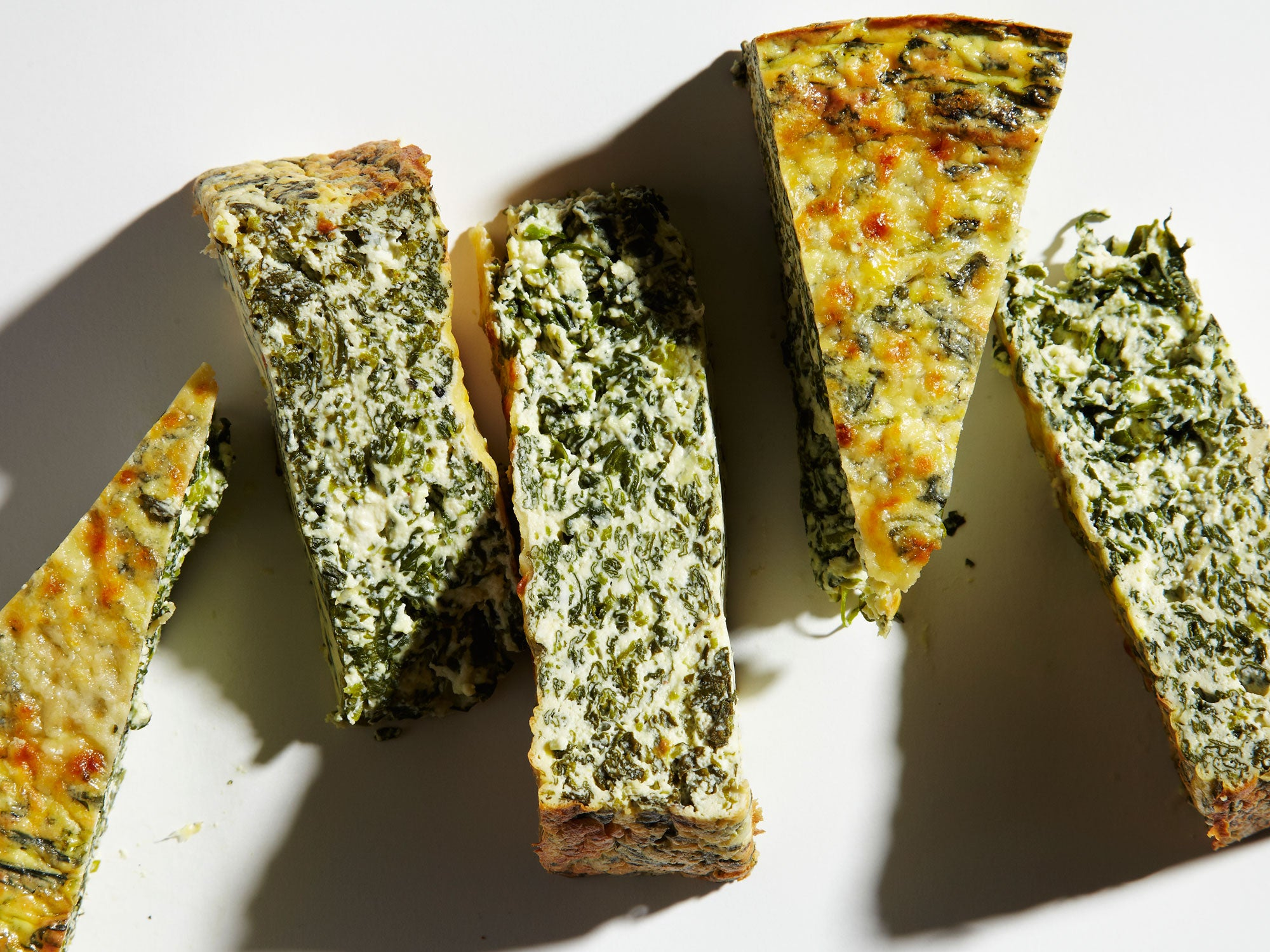 Watercress Ricotta Torte