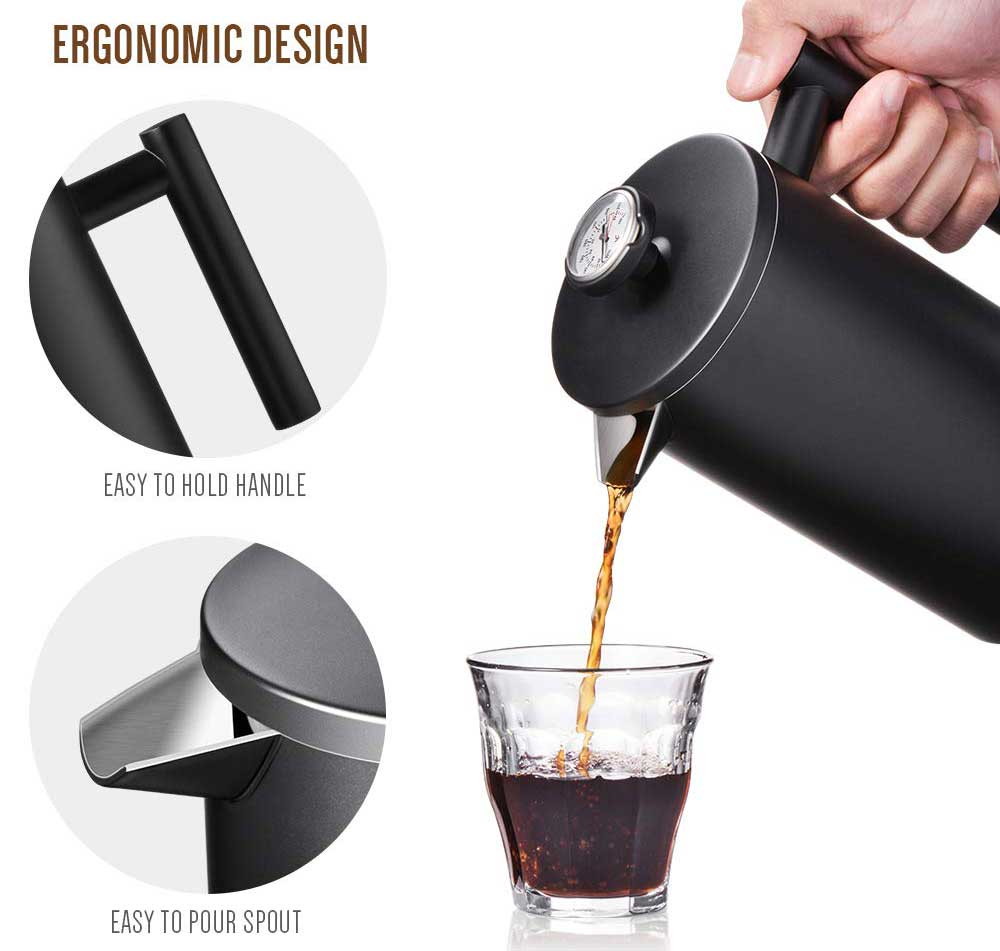 Press Coffee and Tea Maker