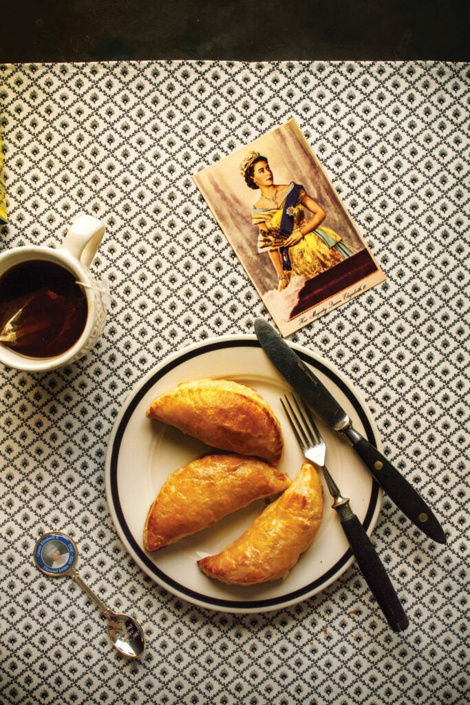 Jerusalem Artichoke and Comté Pasties, British Pies