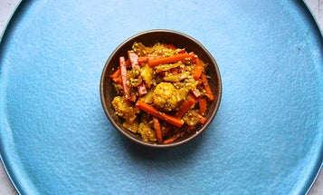 Putting Up Achar: A Malaysian-Style Cauliflower Pickle