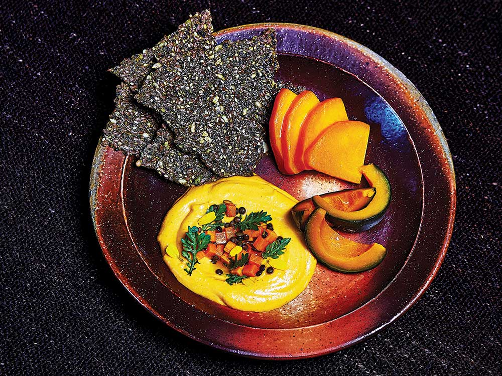 Fermented Squash and Sesame Dip