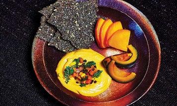 Fermented Squash, Sweet Potato, and Sesame Dip