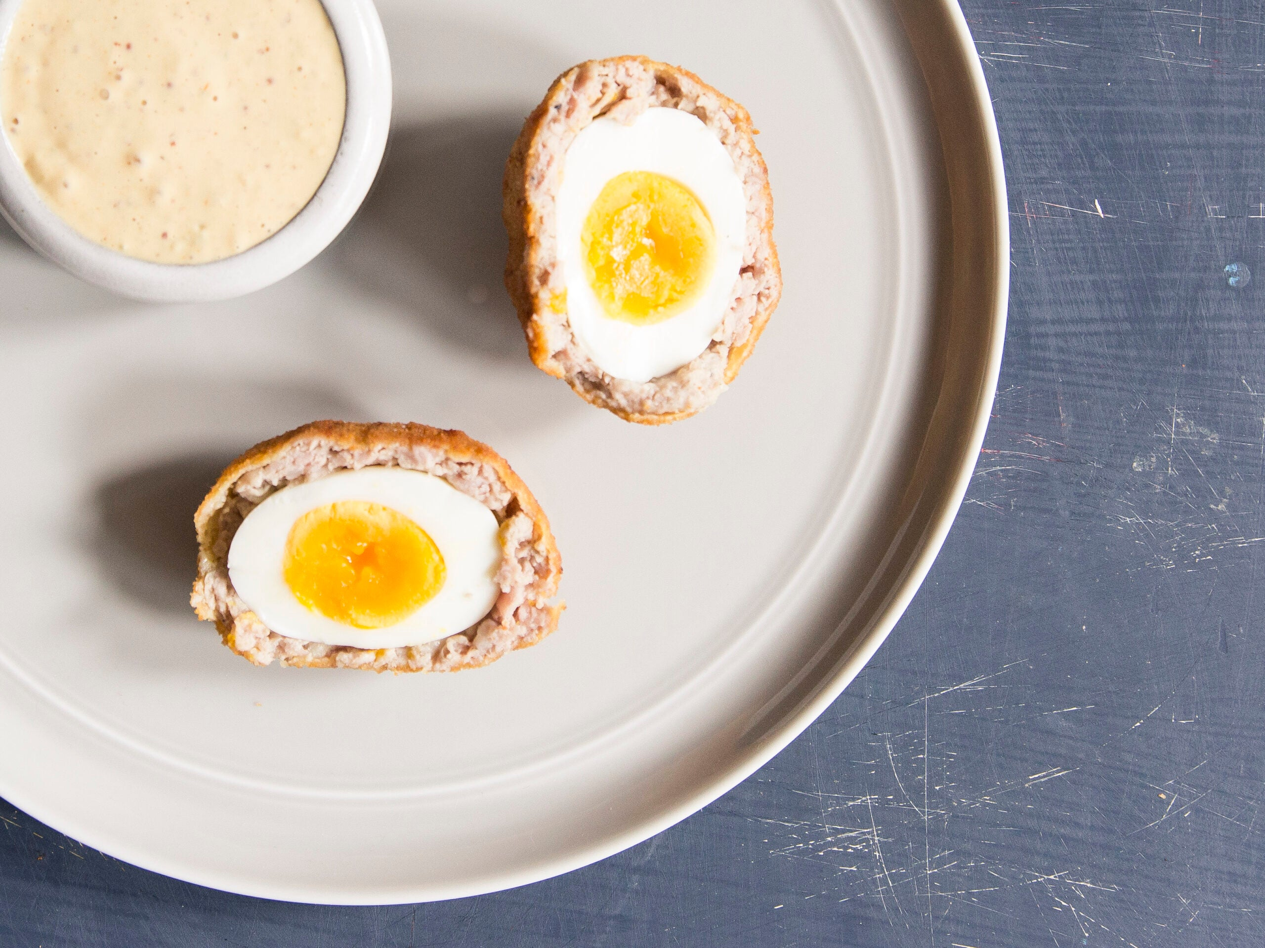 Boudin Scotch Eggs