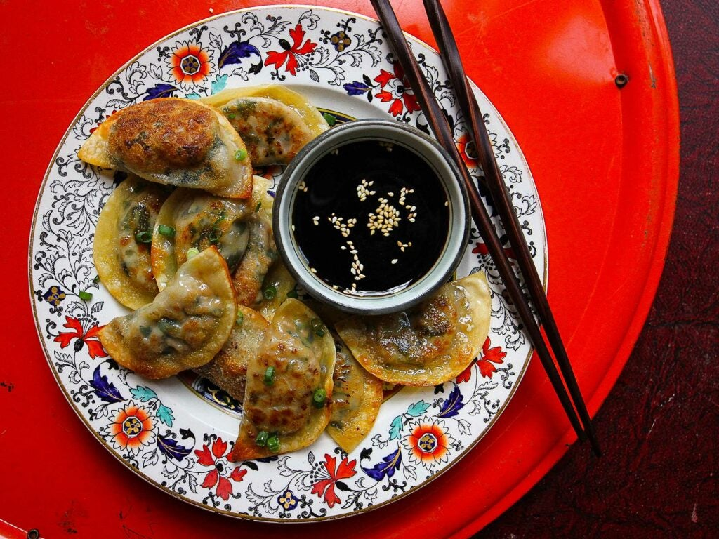 Pork and Cabbage potstickers