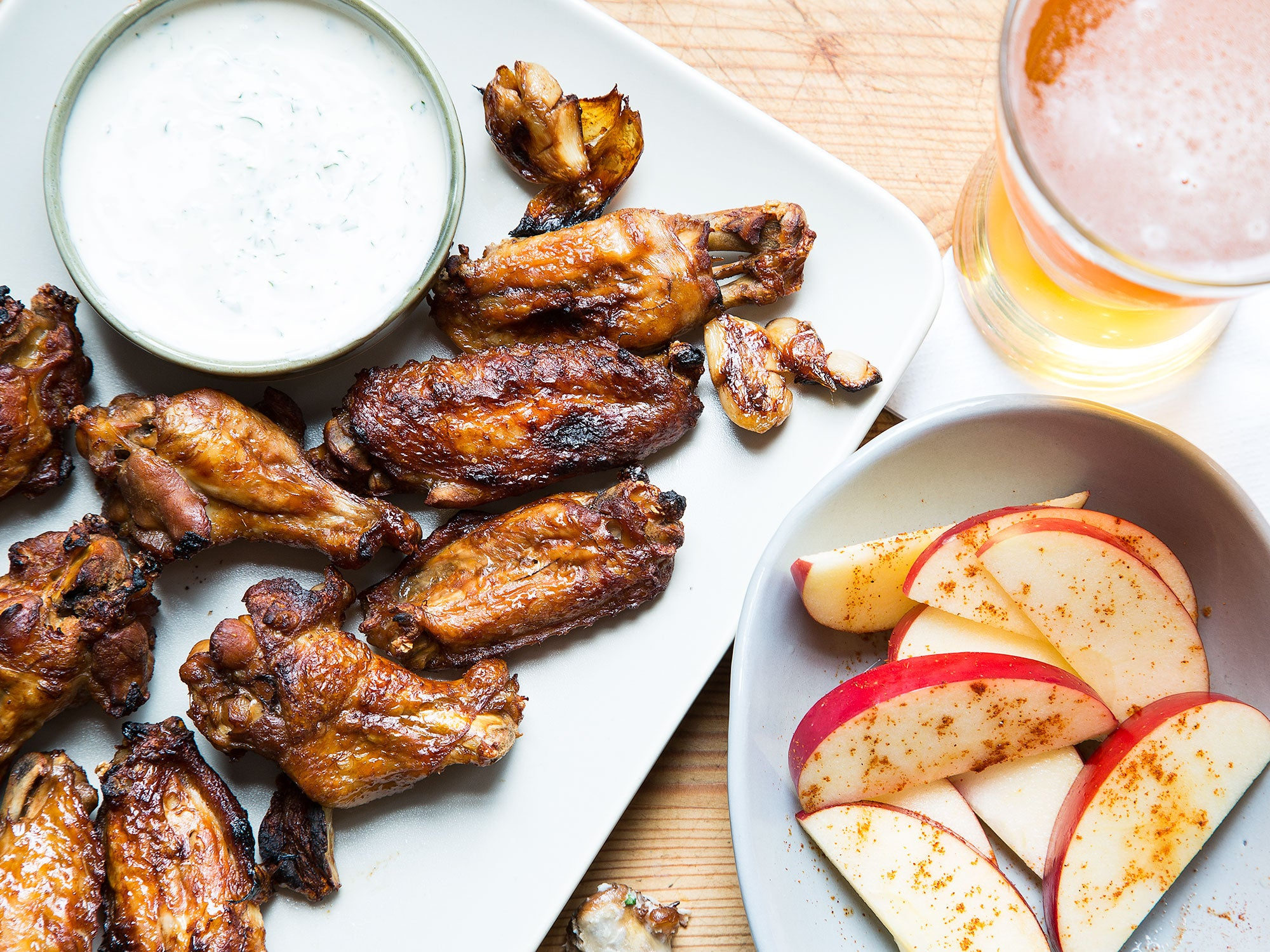Adobo Chicken Wings