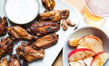 Adobo Chicken Wings