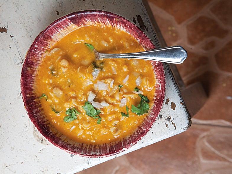 Mexican Fava Bean Soup (Sopa de Habas)
