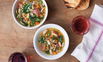 Umbrian Vegetable Soup (Zuppa di Verdure all'Agliata)