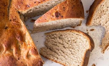 Greek New Year's Bread (Vasilopita)