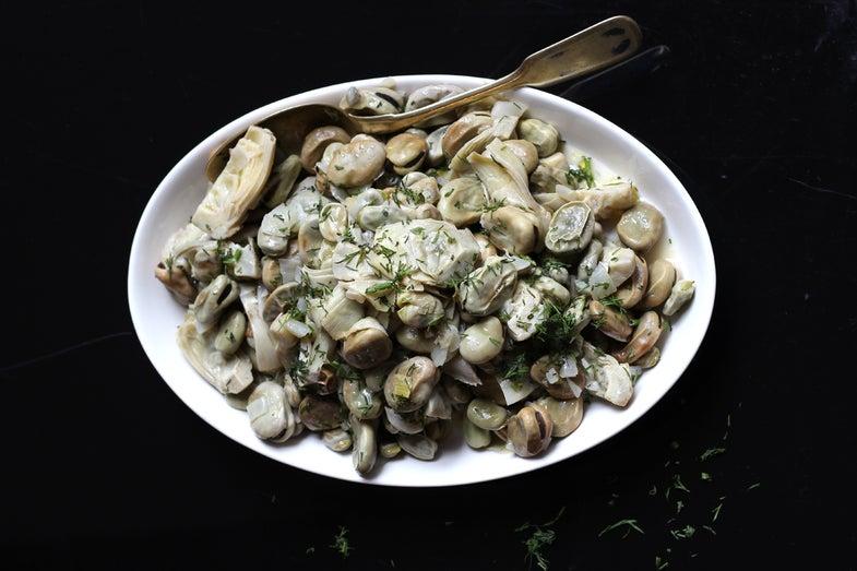 Artichokes and Fava Beans