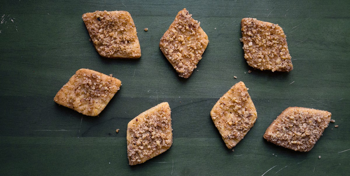 Greek Honey-Dipped Walnut Spice Cookies (Melomakarona)