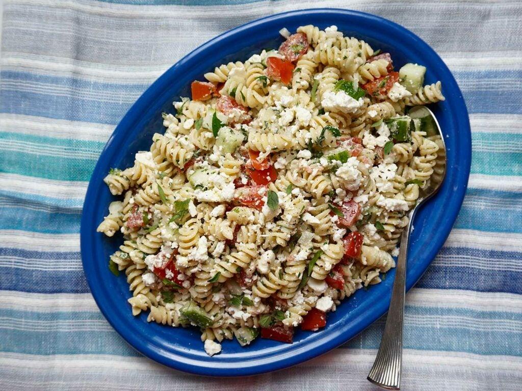 httpswww.saveur.comsitessaveur.comfilesimages201810greek-pasta-salad-1500×1125.jpg
