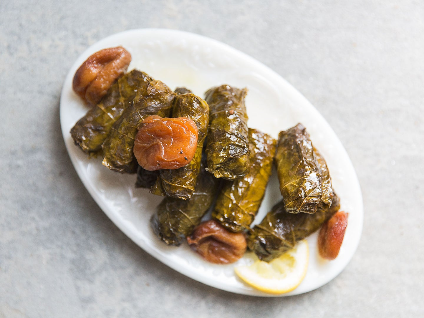 Dolma with Beef, Apricots, and Tamarind Recipe
