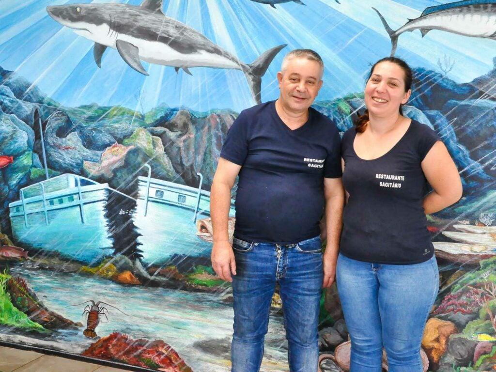 Augusto and Claudia Caetano