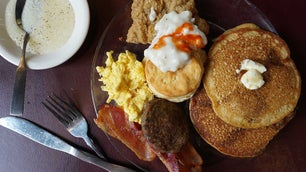 Sweet Potato Pancakes for Breakfast