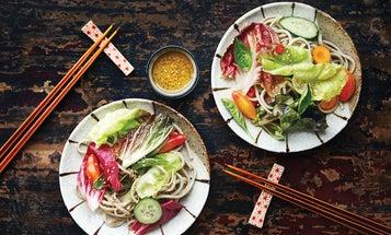 Soba Salad with Lemon-Miso Vinaigrette