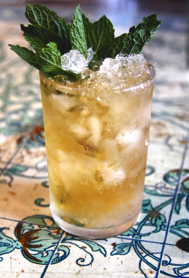 Thousand-Dollar Mint Julep