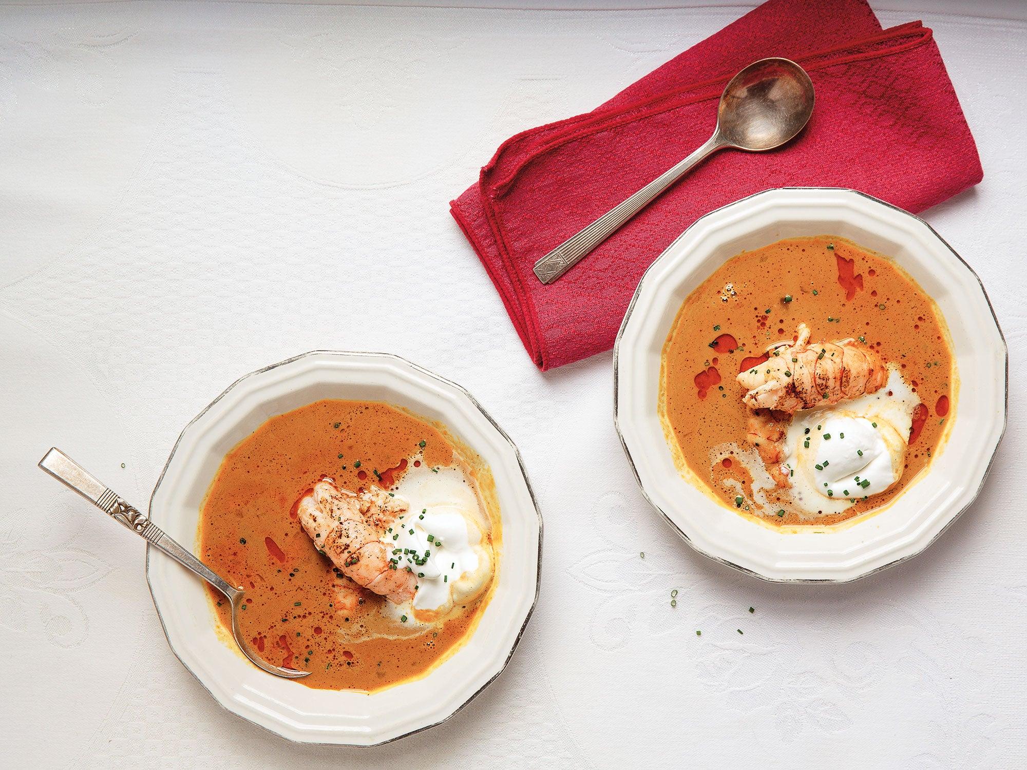 Icelandic Langoustine Soup