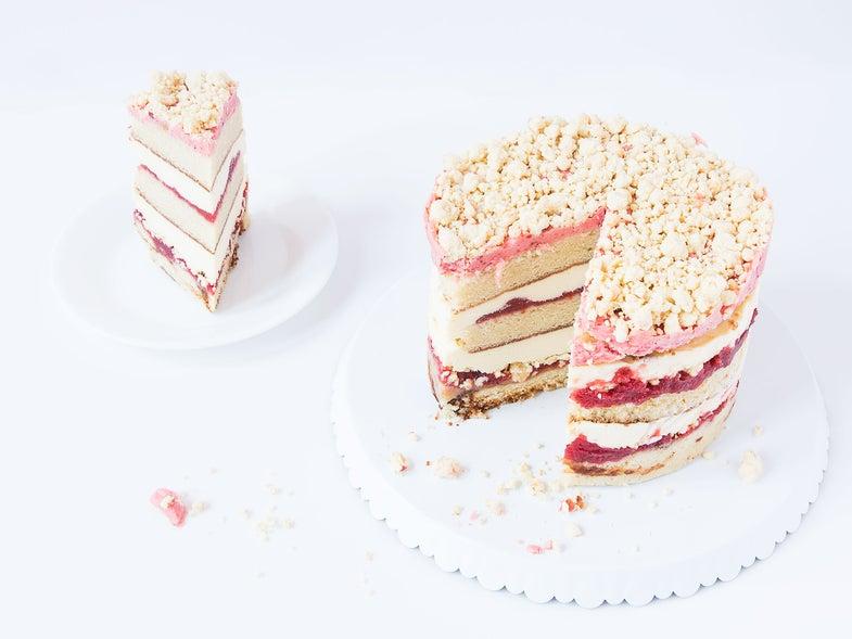 Strawberry Lemon Cake