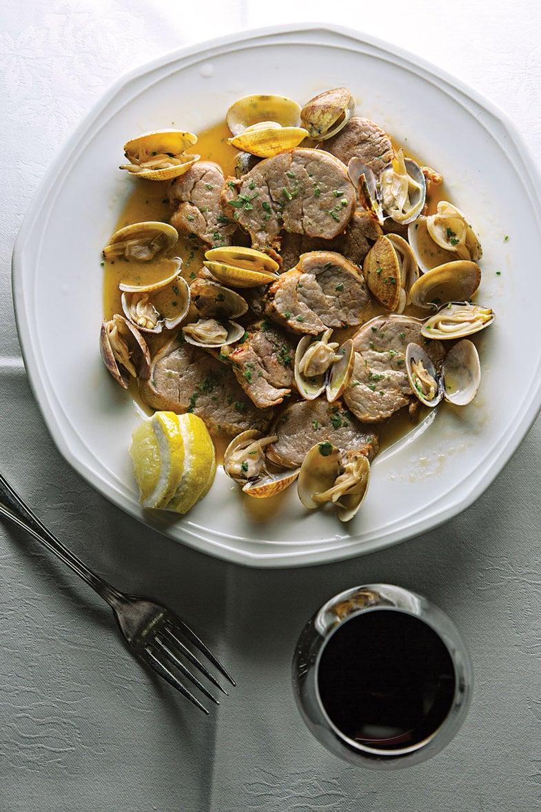 Braised Pork and Clams (Porco à Alentejana)