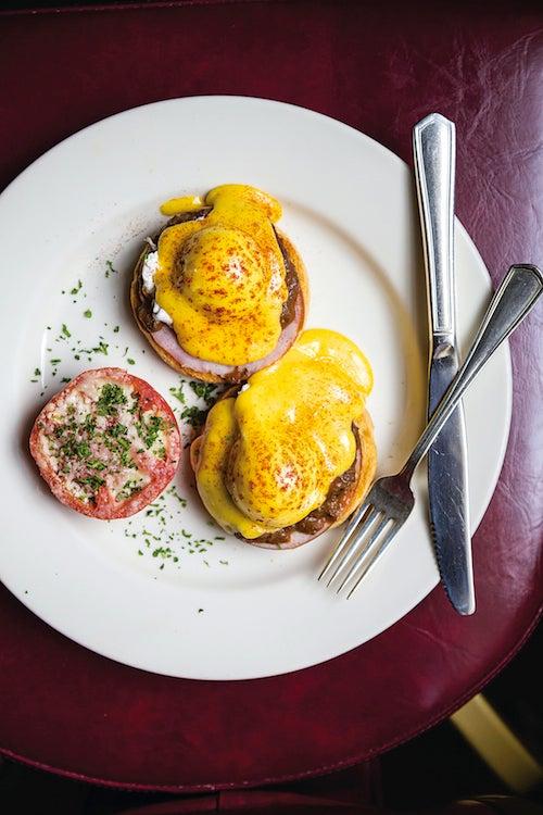 Brennan's Eggs Hussarde