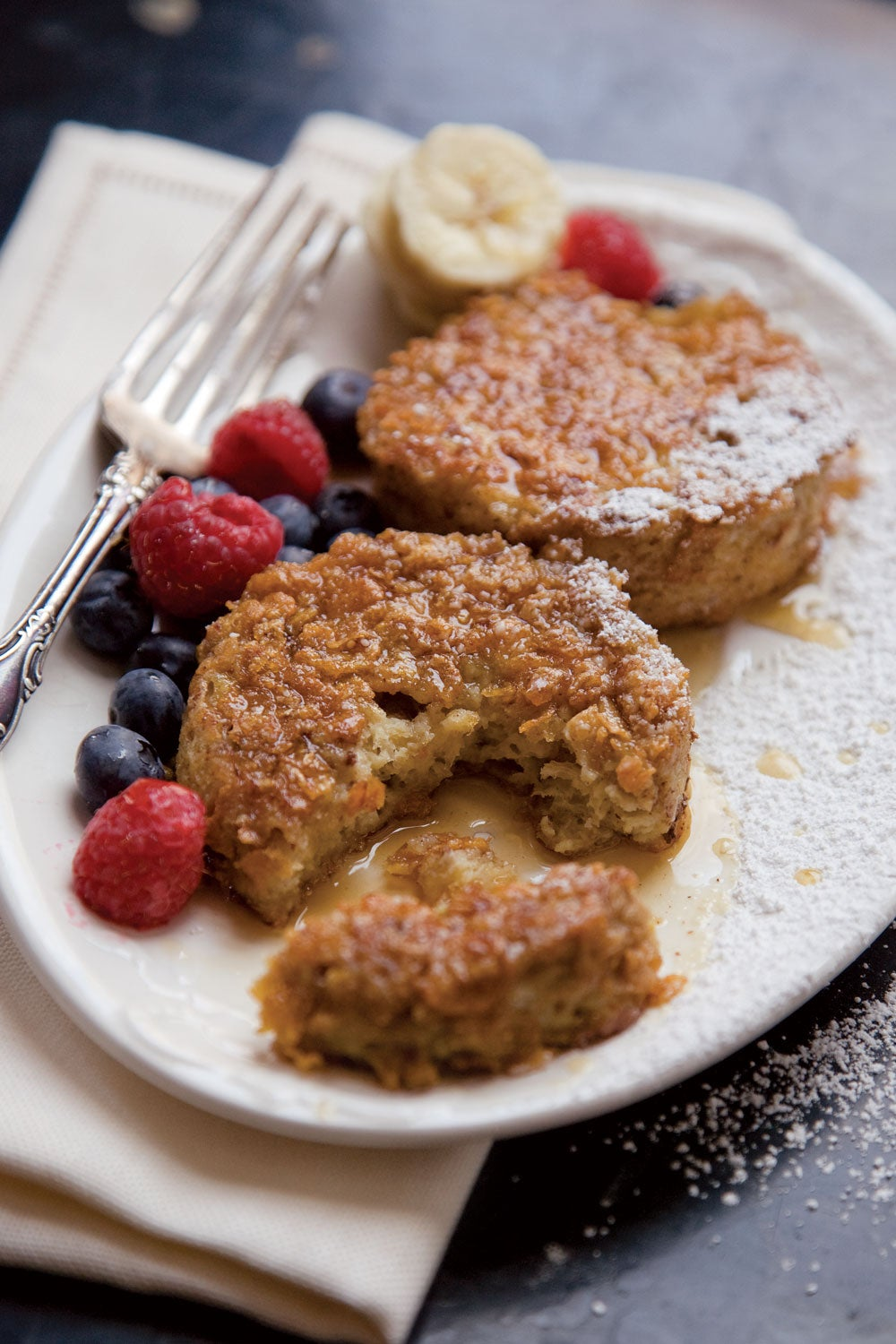 Cornflake-Crusted Brioche French Toast