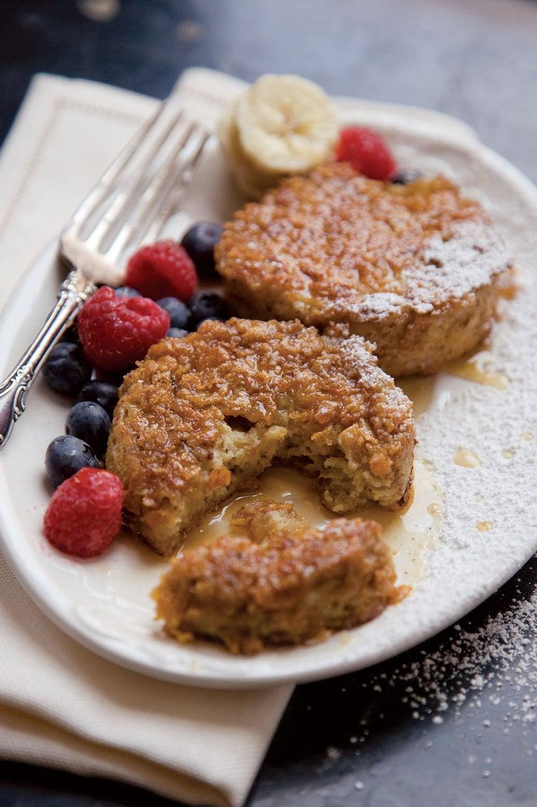 Cornflake-Crusted Brioche French Toast