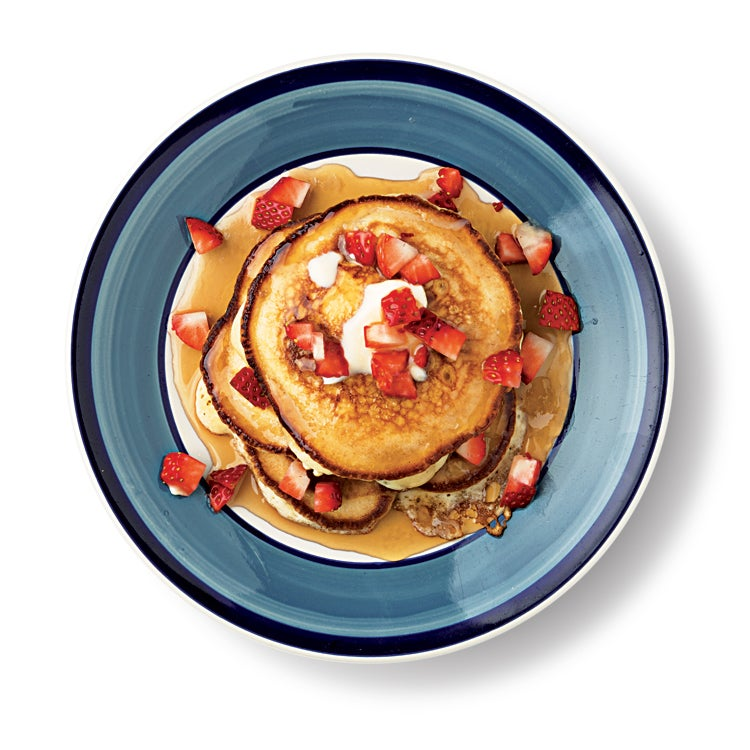 Strawberry Griddle Cakes
