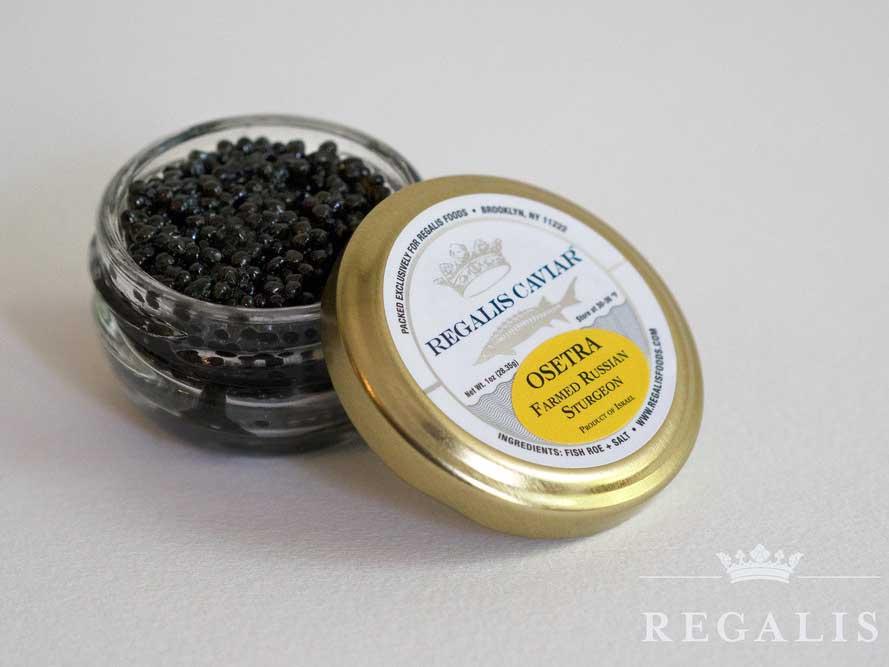 Jet Black Osetra Caviar
