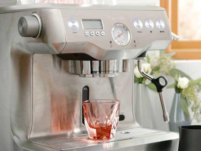 VERO Rose Cappuccino Glass