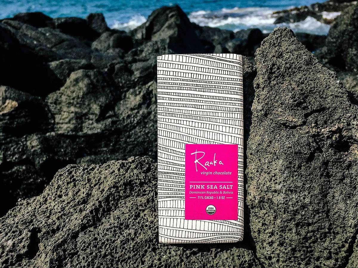 Raaka Dark Sea Salt Chocolate