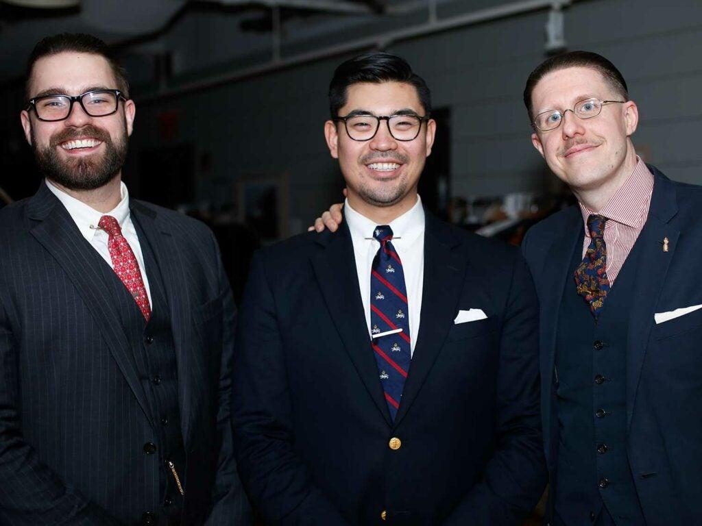 Peter Cranz, Ryan Te, and Ben Crispin