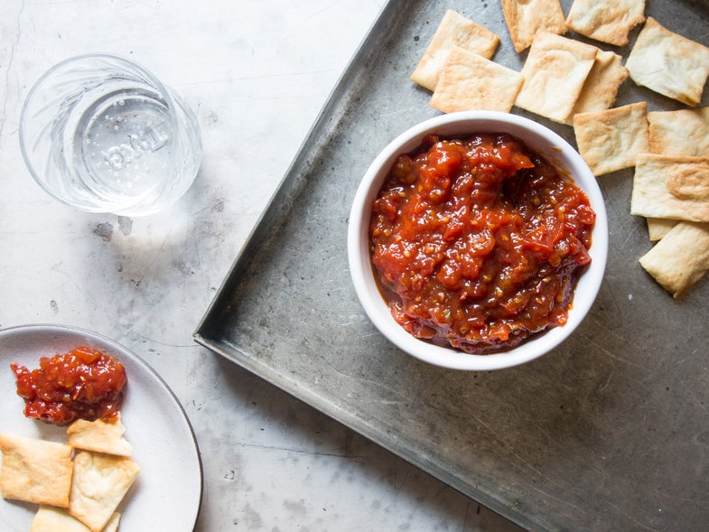 Summer Tomato and Herb Dip