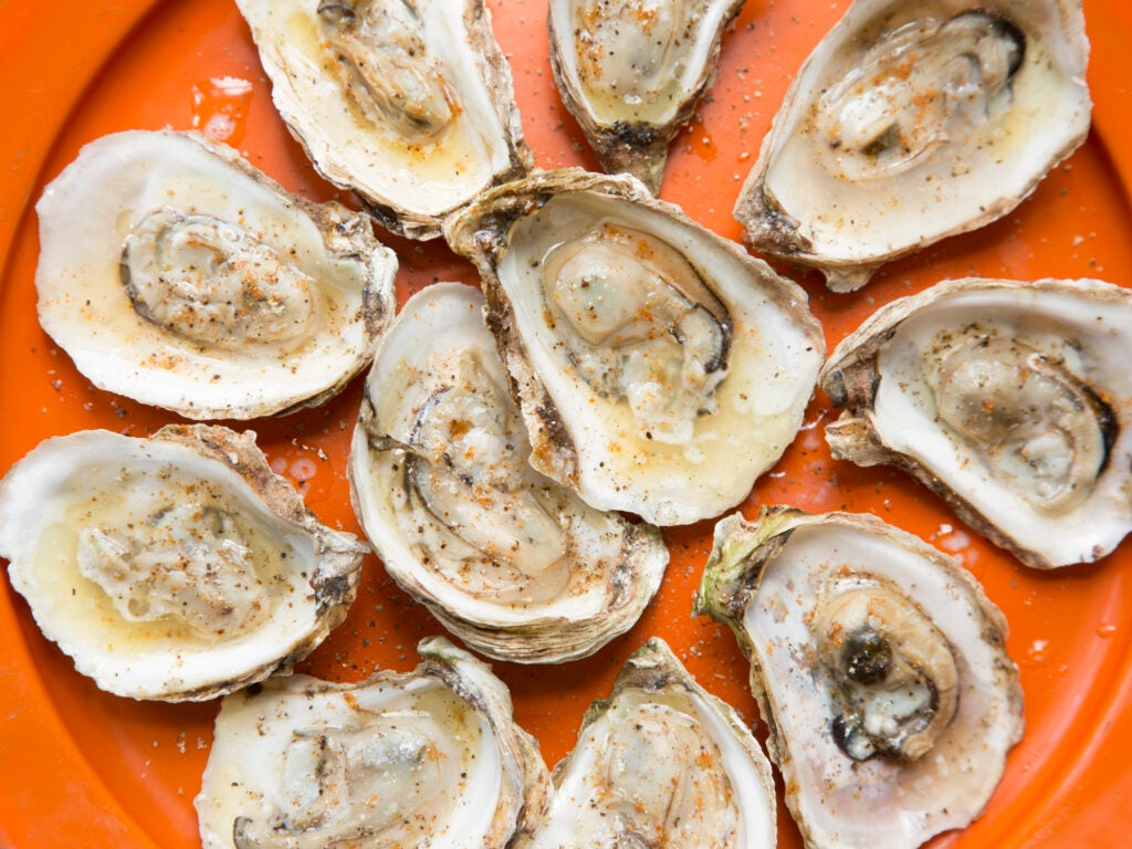 Grilled Oysters for 4th of July recipes