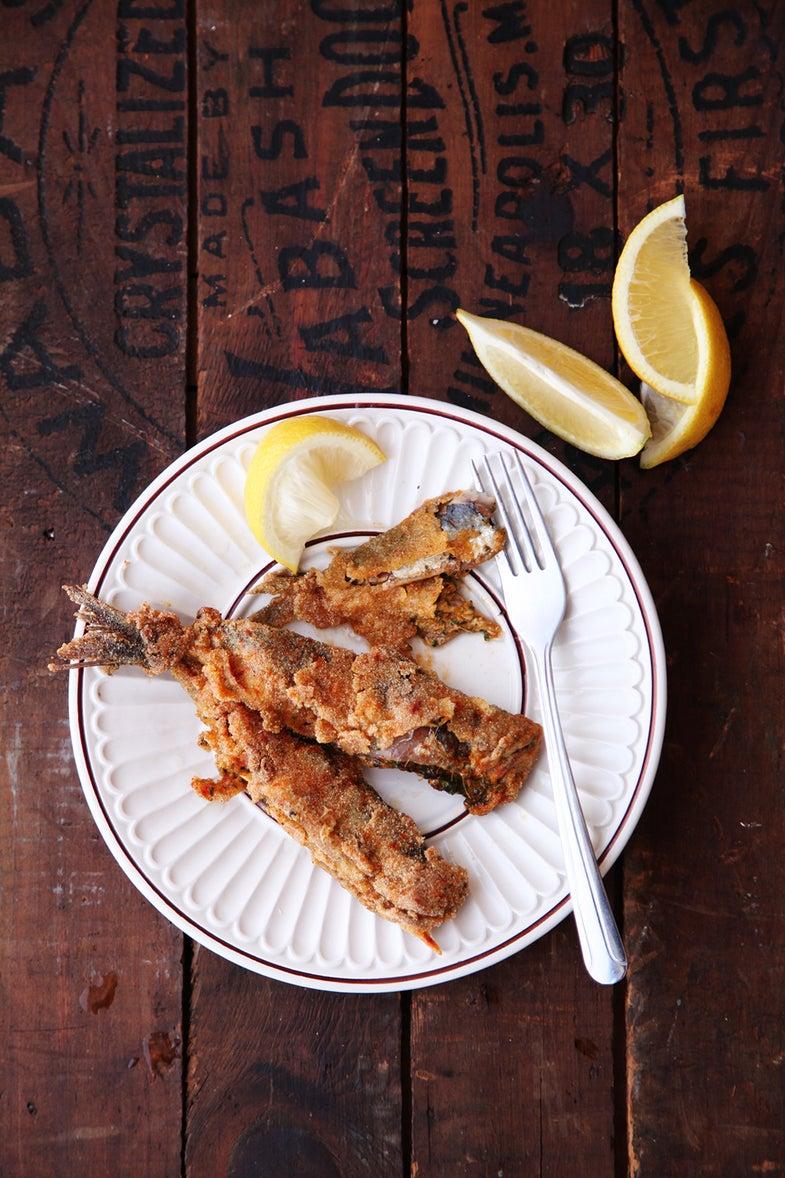 Charmoula-Stuffed Sardines