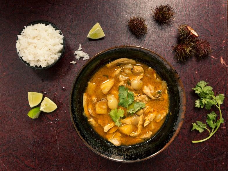 Summer Rambutan Curry