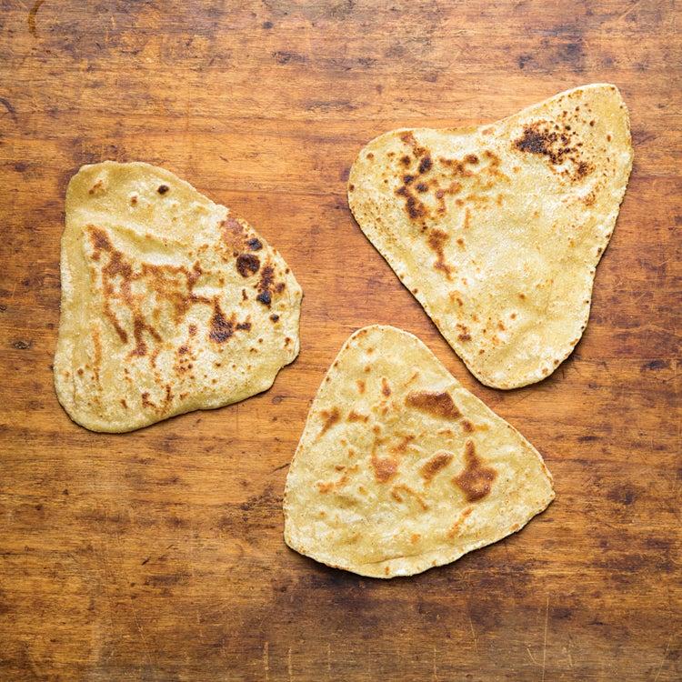 Indian Layered Flatbread (Paratha)