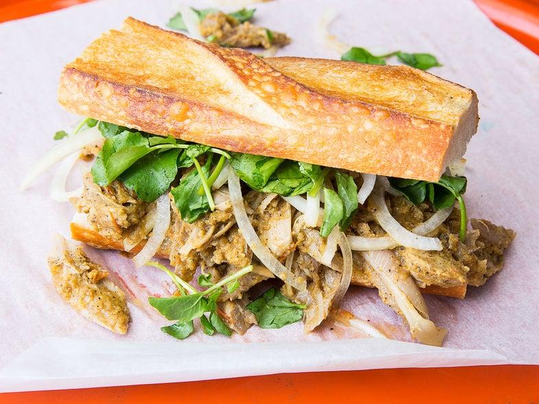 Salvadoran Turkey Sandwich (Panes con Pavo)
