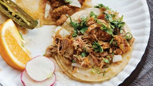 Carnitas Tacos (Michoacán-Style Braised Pork Tacos)