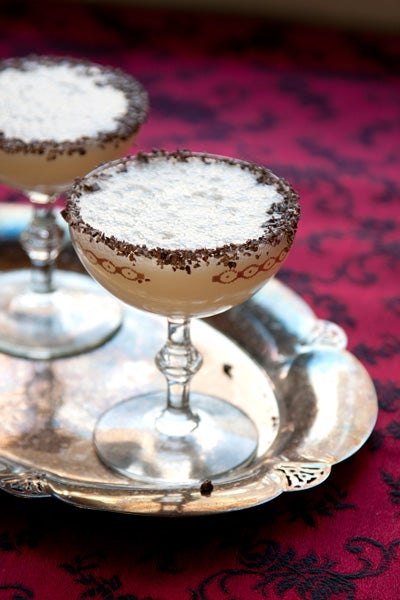Cacao Fruit Cocktail