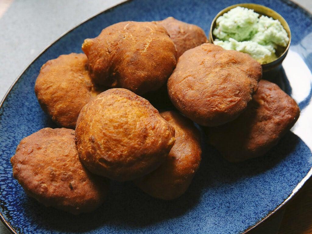 Indian Fried Banana Cakes (Mangalore Buns)