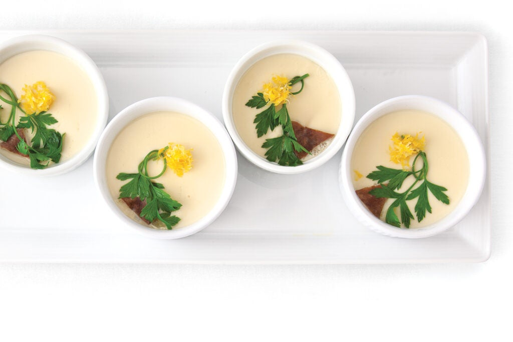 Japanese Egg Custard (Chawanmushi)