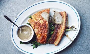 "Filipino Roast Pork Belly with ""Lechon"" Sauce"