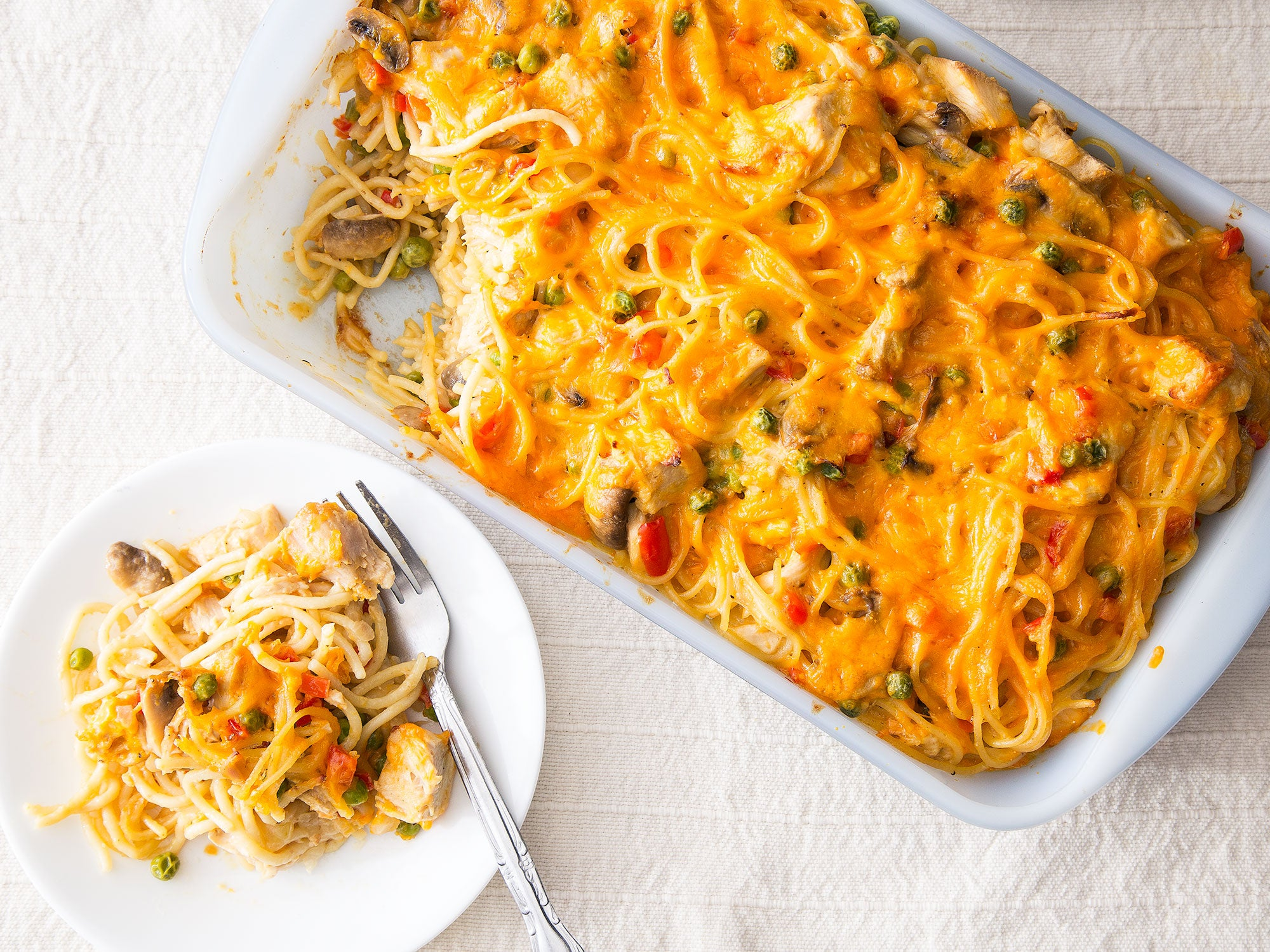 Simple Week Night Meal Tetrazzini