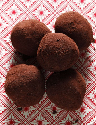Cardamom-Laced Milk Chocolate Truffles