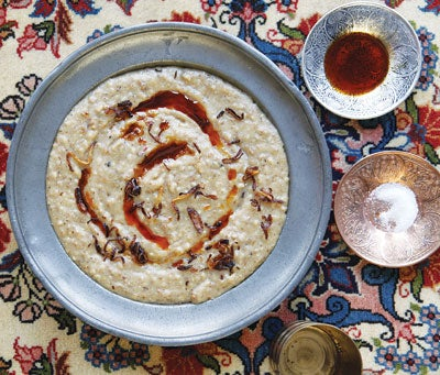 Spiced Chicken and Wheat Porridge