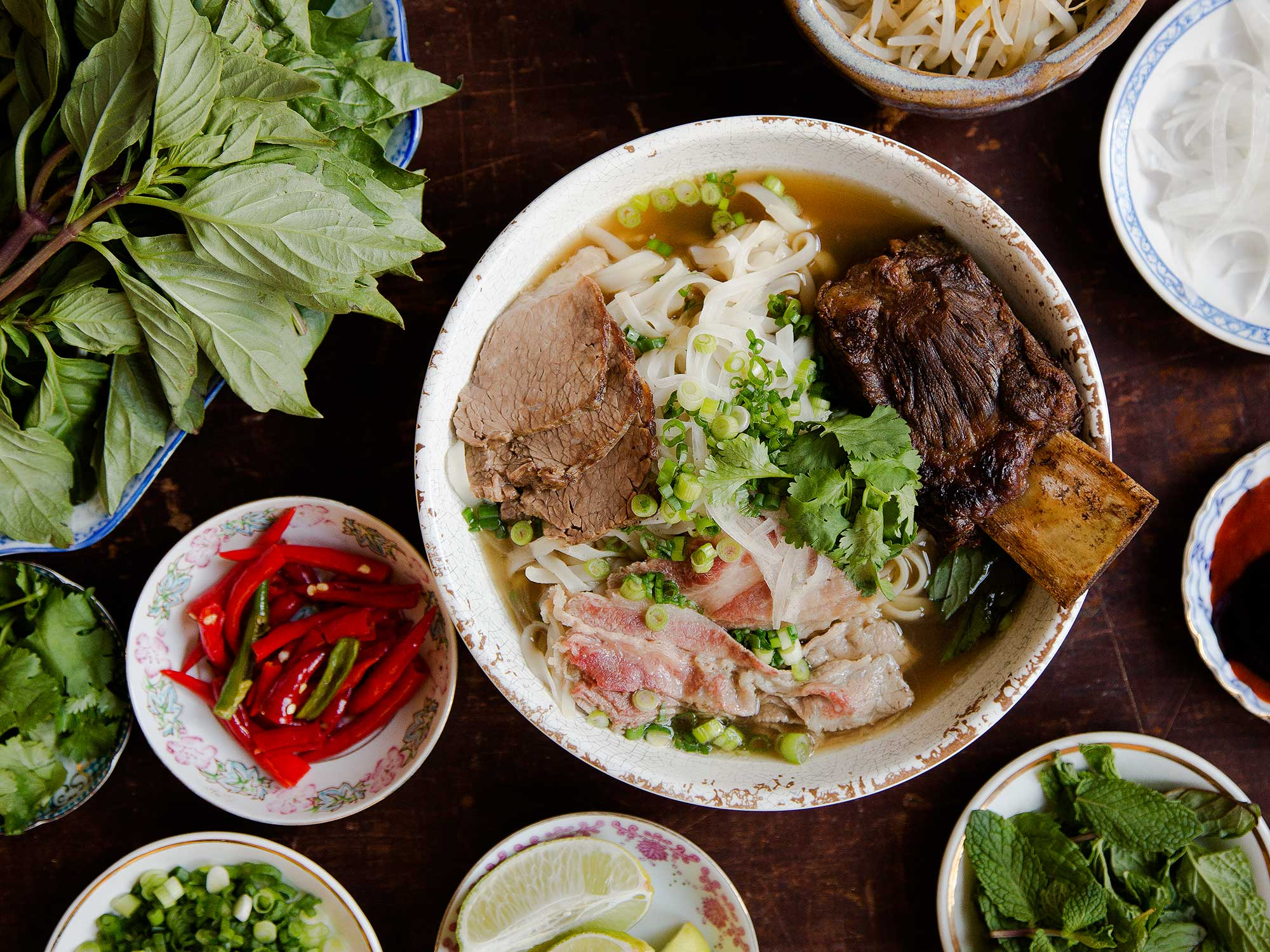 The Best Pho in NYC Comes With an Unusual Add-In