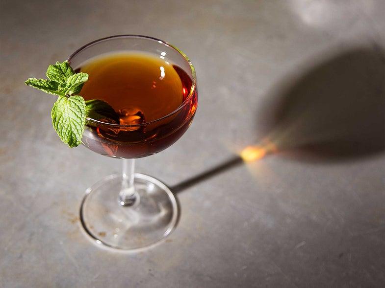 Cachaca Rio Julep Cocktail