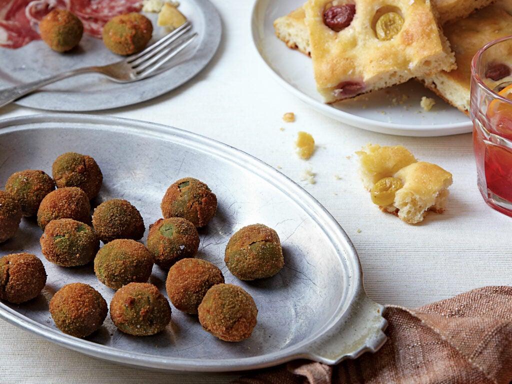 Fried Stuffed Castelvetrano Olives
