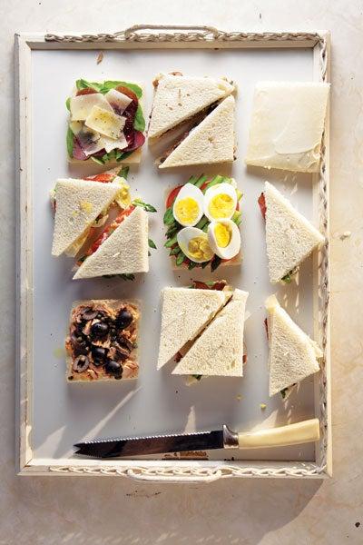 Venetian Tea Sandwiches (Tramezzini)